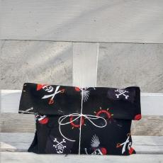 Weltenbummler-Geschenkbeutel Jolly Roger