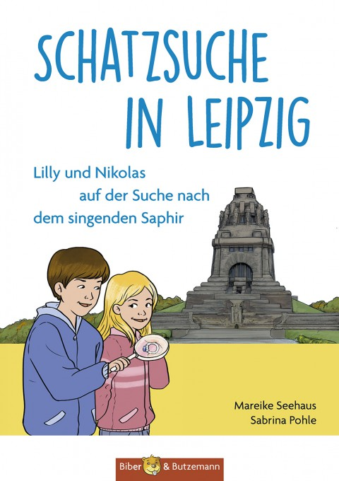 Schatzsuche in Leipzig - Lilly und Nikolas auf der Suche nach dem singenden Saphir
