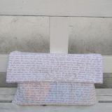 Weltenbummler-Geschenkbeutel Schriftkunst